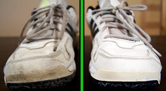 1f82494579db5 Teraz sa už nebojím obuť si biele topánky! Viem ako ich vyčistiť raz dva! O  návod sa podelím aj s vami - chillin.sk