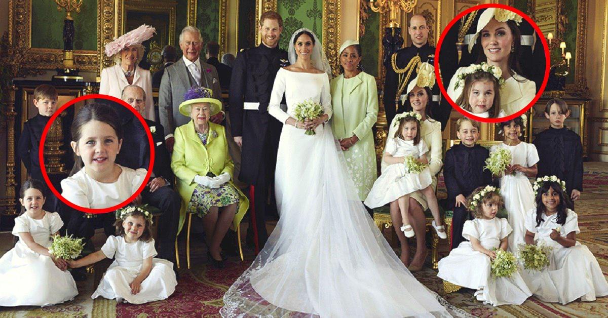 50de4a5bd988 Fanúšikovia kráľovskej rodiny si všimli zaujímavé detaily na svadobných  portrétoch princa Harryho a Meghan Markle - chillin.sk